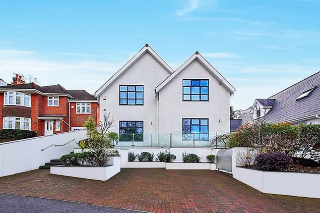 Thumbnail Detached house for sale in Elgin Road, Lilliput, Poole