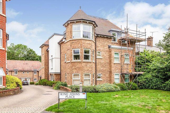 Thumbnail Flat to rent in King Johns Place Egham Hill, Egham