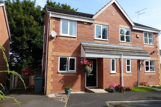 Thumbnail Semi-detached house for sale in Fisher Way, Heckmondwike, West Yorkshire.