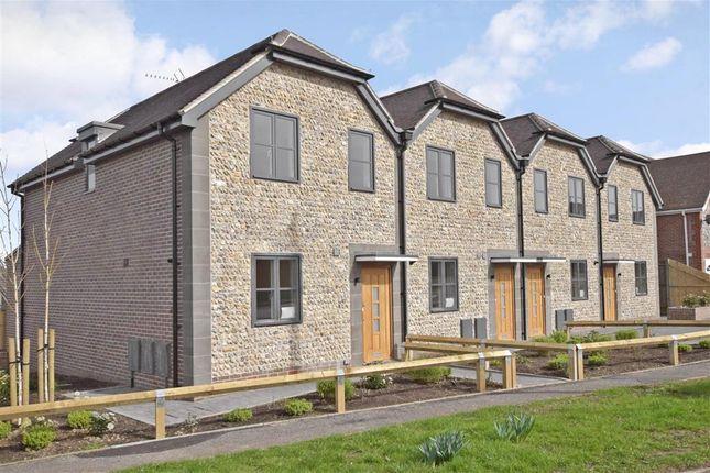 Thumbnail End terrace house for sale in Rectory Lane, Ashington, West Sussex