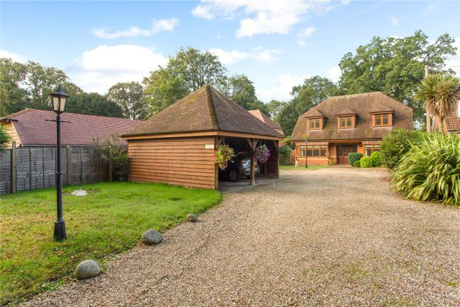 Thumbnail Detached house for sale in Hook Road, Ampfield, Romsey, Hampshire