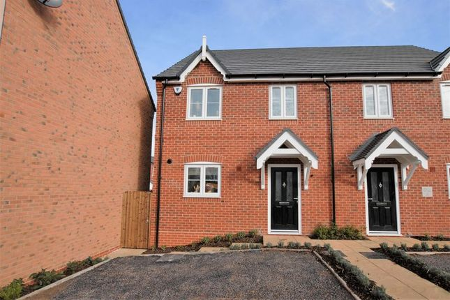 Thumbnail Semi-detached house for sale in ST18