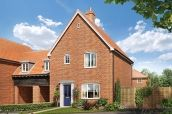 Thumbnail Link-detached house for sale in Nursery Lane, South Wootton, Norfolk