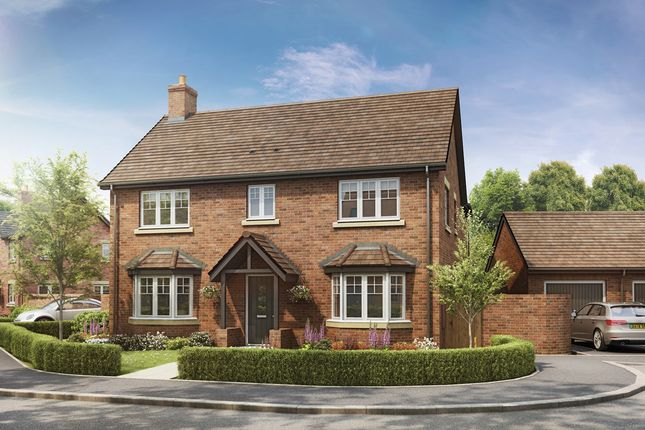 Thumbnail Detached house for sale in Newton Lane, Newton, Rugby