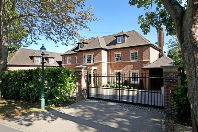 Thumbnail Detached house for sale in Gorse Hill Road, Wentworth, Virginia Water, Surrey