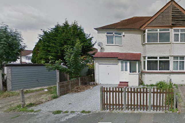 Thumbnail End terrace house for sale in Elmgate Avenue, Feltham