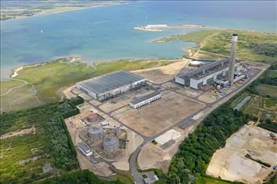 Land to let in Fawley Power Station, Western Road, Fawley, Southampton, Hampshire