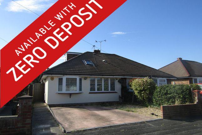 Thumbnail Semi-detached bungalow to rent in Goodwood Road, Gosport