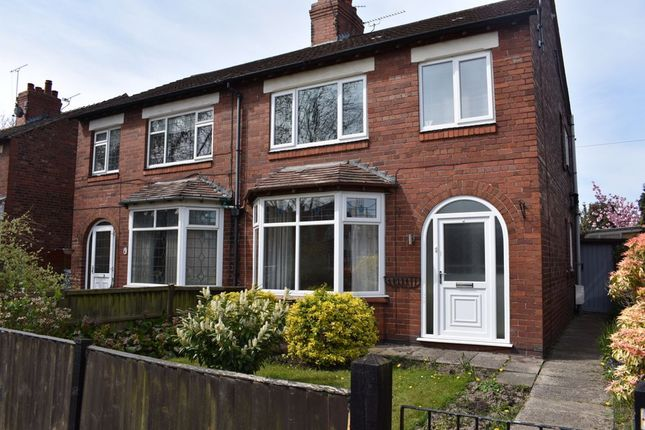 3 bed semi-detached house to rent in Middlewich Street, Crewe, Cheshire CW1