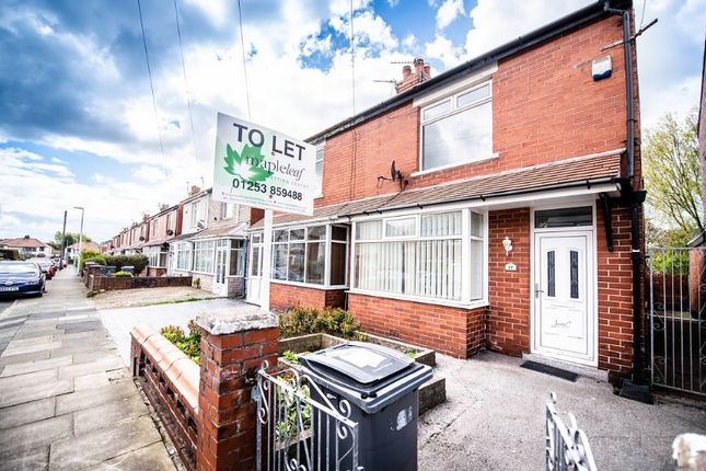 Thumbnail Semi-detached house to rent in Toronto Avenue, Bispham