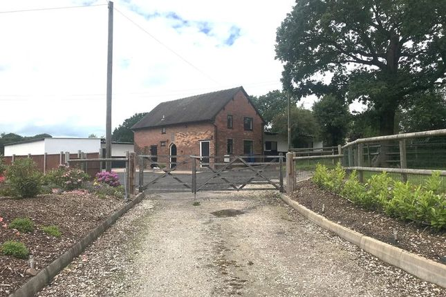 Thumbnail Equestrian property to rent in Black Pitts Stables, Blythe Bridge Bank, Kingstone, Uttoxeter