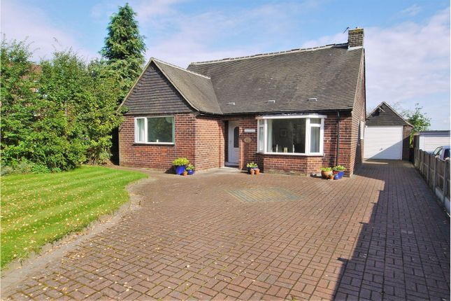 Thumbnail Detached bungalow for sale in Church Lane, North Wingfield, Chesterfield