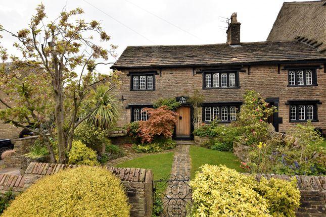 2 bed semi-detached house for sale in Upper Hibbert Lane, Marple, Stockport SK6