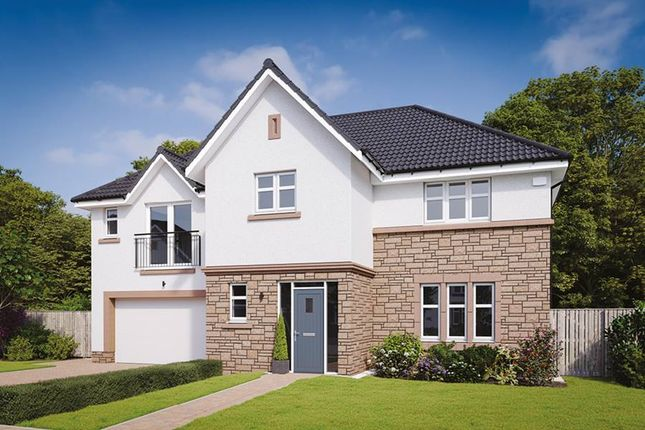 "Thumbnail Detached house for sale in ""The Kennedy"" at Davidston Place, Lenzie, Kirkintilloch, Glasgow"