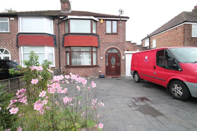 Thumbnail Semi-detached house to rent in Ashlands Road, Timperley