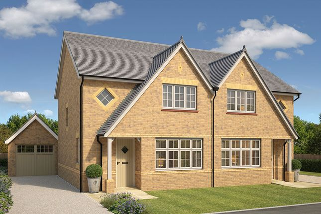 """Thumbnail Semi-detached house for sale in """"Letchworth"""" at Haslingfield Road, Barrington, Cambridge"""
