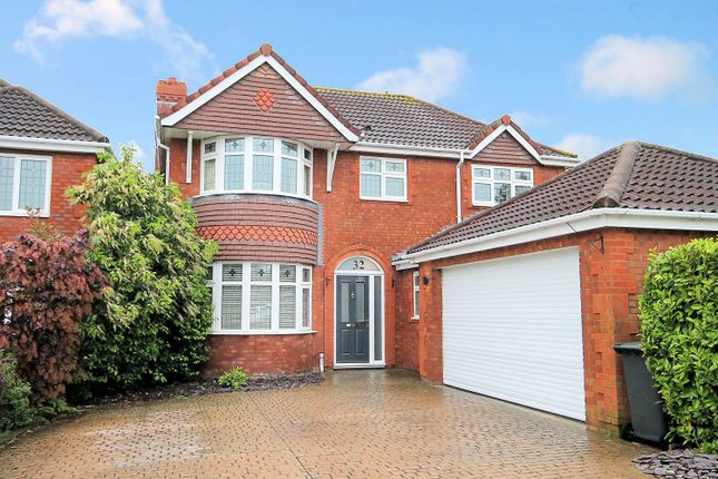 Thumbnail Detached house to rent in Marsett, Wilnecote, Tamworth