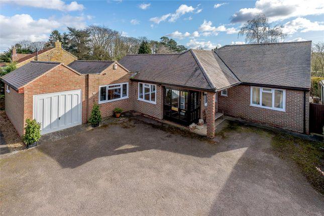 Thumbnail Bungalow for sale in Spring Lane, Wymondham, Melton Mowbray, Leicestershire