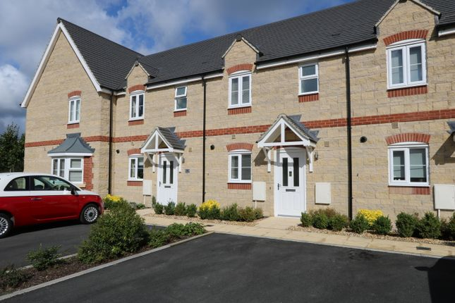 Thumbnail Terraced house to rent in Woburn Close, Corby