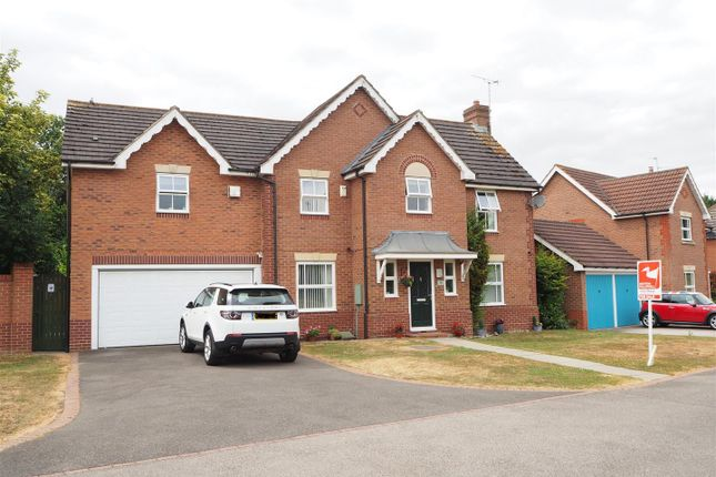 Thumbnail Detached house for sale in Lilburne Close, Newark