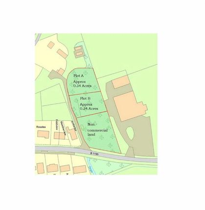 Land to let in Station Road, Spilsby, Lincolnshire
