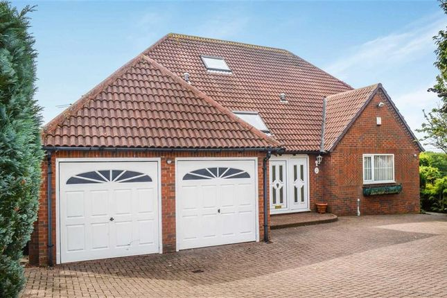 Thumbnail Detached house for sale in Valerian Court, Ashington, Northumberland