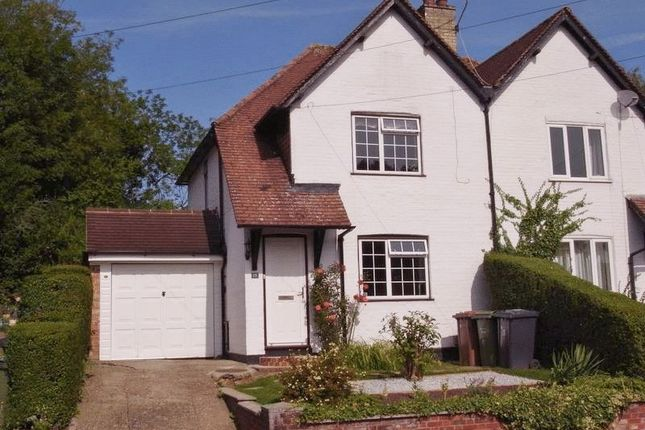 Thumbnail Semi-detached house for sale in Downing Avenue, Guildford
