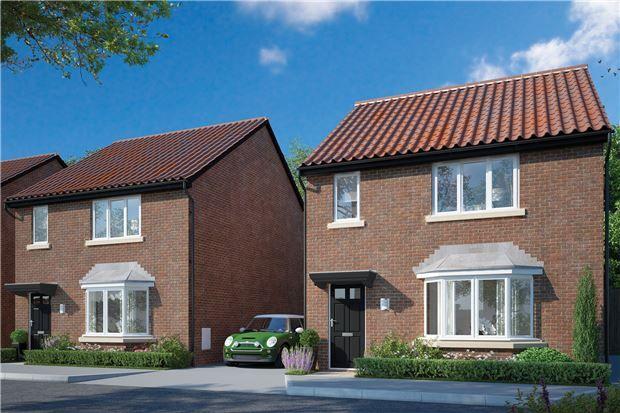 Thumbnail Detached house for sale in Plot 35, The Shipton, Hardwicke Grange, Hardwicke, Gloucester