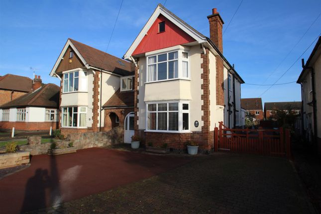 Thumbnail Semi-detached house for sale in Swithland Lane, Rothley, Leicester
