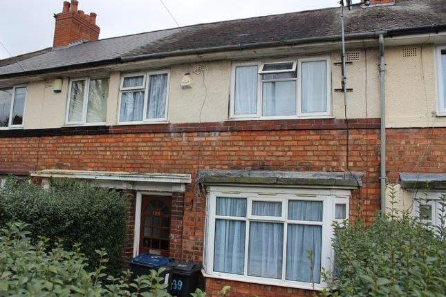 Thumbnail Terraced house for sale in Finchley Road, Kingstanding, Birmingham