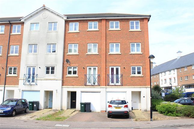 Thumbnail Town house for sale in Barbuda Quay, Eastbourne