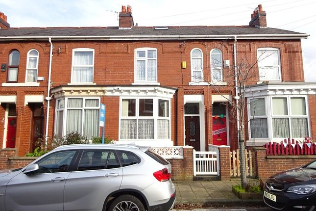 Thumbnail Terraced house for sale in Alphonsus Street, Old Trafford, Manchester, Greater Manchester.
