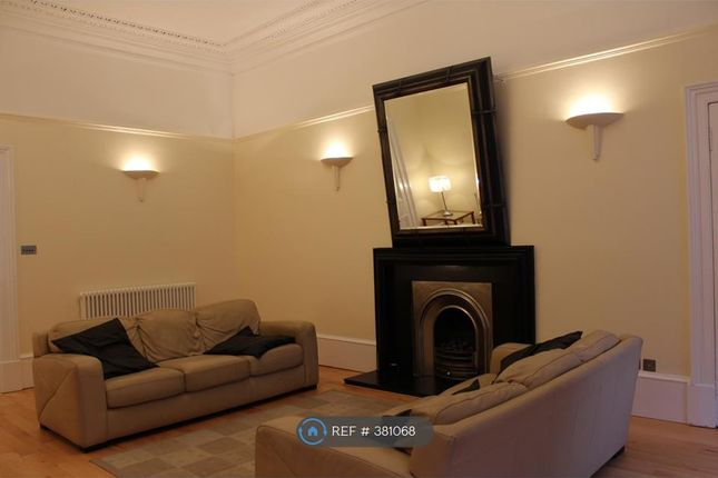 Thumbnail Flat to rent in Buckingham Terrace, Glasgow