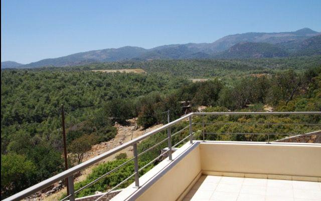 View From Villas Poppy & Hibiscus Bedroom Balcony