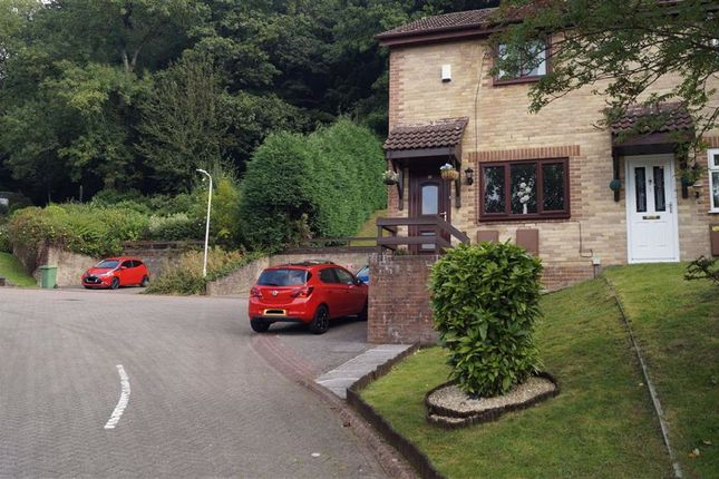 Thumbnail End terrace house for sale in Clas Y Dderwen, Mountain Ash