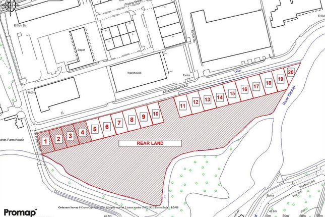 Thumbnail Land for sale in Kennet Weir Business Park, Arrowhead Road, Theale, Reading