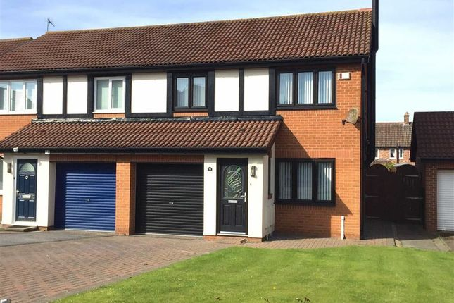 Thumbnail Semi-detached house for sale in Beaconside, South Shields