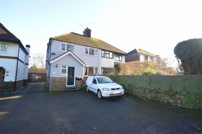 Thumbnail Semi-detached house for sale in Crowborough Hill, Crowborough