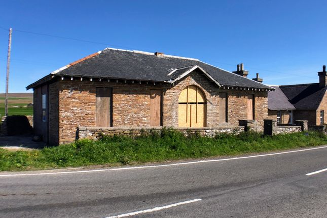Thumbnail Detached house for sale in Old Drill Hall, Twatt, Orkney