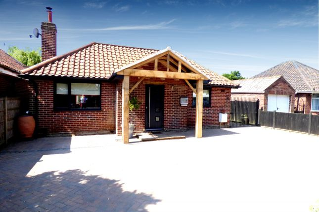 Thumbnail Detached bungalow for sale in Lodge Lane, Old Catton, Norwich