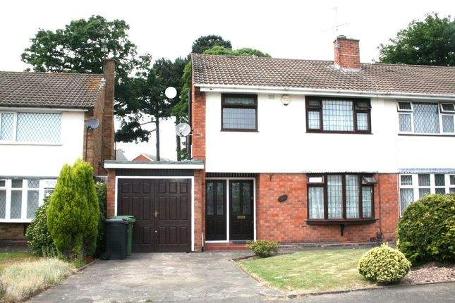 Thumbnail Semi-detached house to rent in Cricket Meadow, Wolverhampton