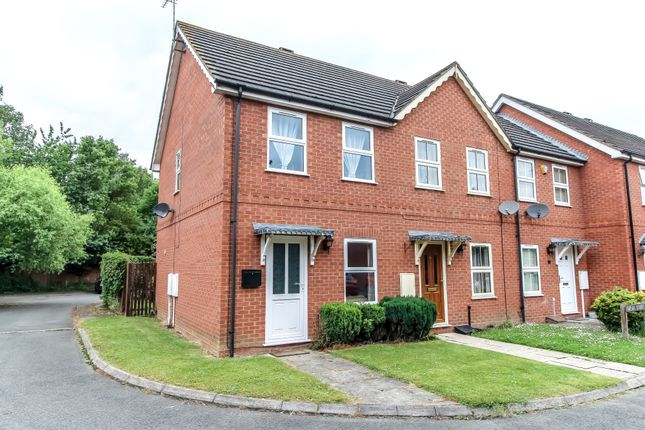 Thumbnail End terrace house for sale in Breda Court, Spalding, Lincolnshire