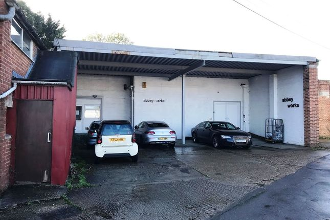 Land to let in Abbey Works, Groveley Road, Christchurch, Dorset