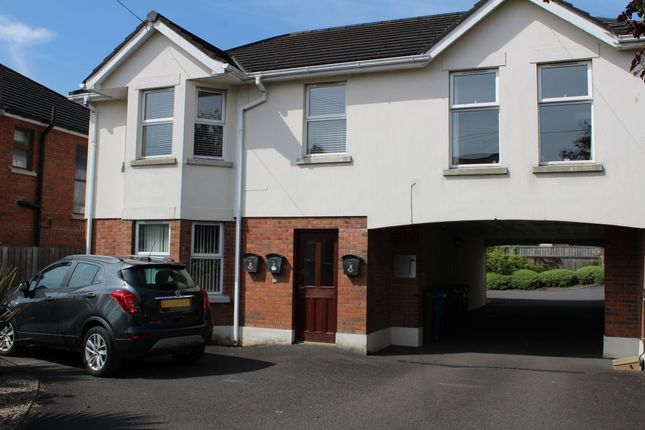 Thumbnail 2 bed flat for sale in Castleview Road, Belfast