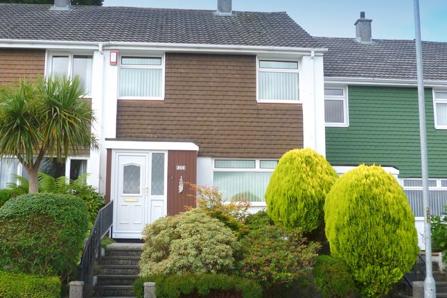 Thumbnail Terraced house to rent in Lynher Drive, Saltash
