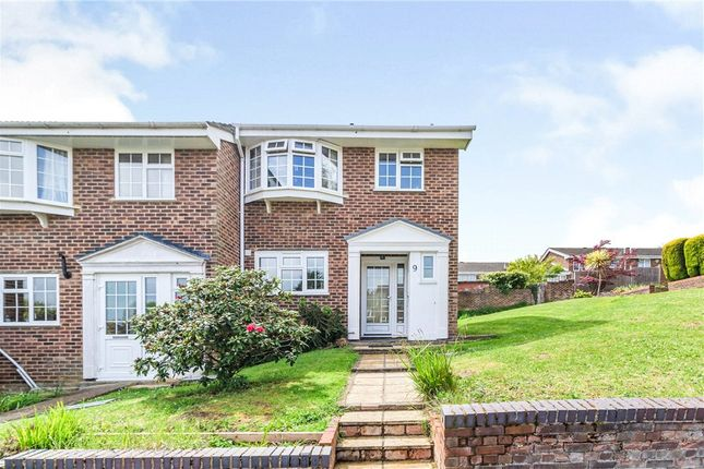 Thumbnail End terrace house for sale in St Marys Close, Chessington, Surrey
