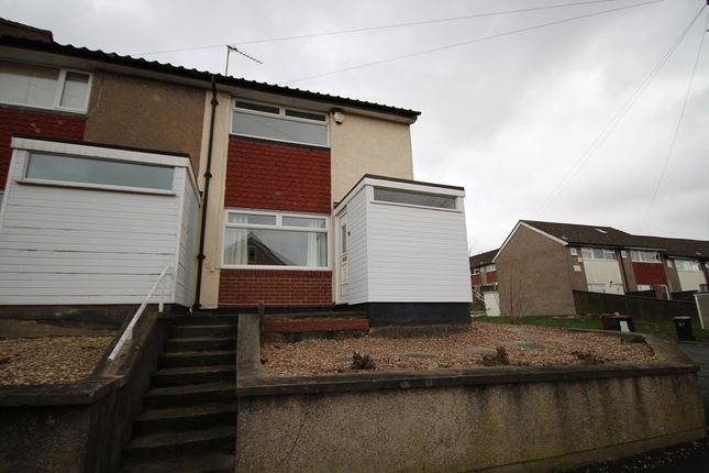 Thumbnail End terrace house to rent in Bodmin Gardens, Leeds