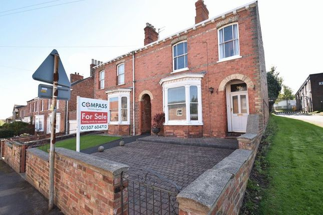 Thumbnail Semi-detached house for sale in Kidgate, Louth