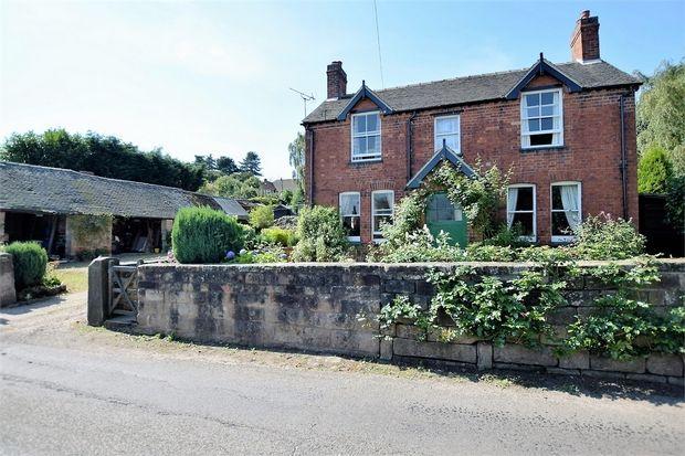 Thumbnail Detached house for sale in Church Street, Holbrook, Belper, Derbyshire