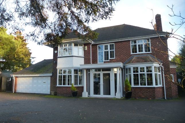Thumbnail Detached house for sale in Church Lane, Bickenhill, Solihull